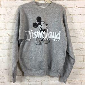 Disneyland Resort Mickey Gray Sweatshirt Medium